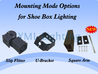 Mounting Mode Options for Shoe Box Lighting
